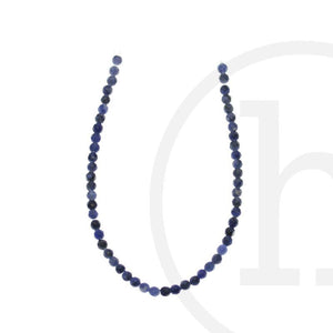 Sodalite Faceted Round ( B grade)Beads by Halcraft Collection