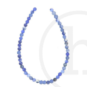 Stone Beads, Stone, Stone Bead, Stone, Beads, Semi-precious, Stone, Blue, Round, Sodalite, 4mm, 6mm, 8mm, 10mm, 12mm