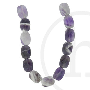 Amethyst Faceted Rectangle 16√ó12mm Beads by Halcraft Collection