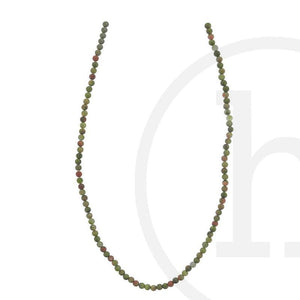 Chinese Unakite RoundBeads by Halcraft Collection