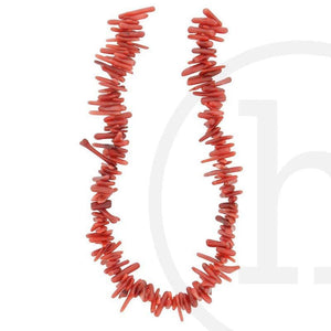 Red Dyed Bamboo Coral Small Branch(Red)Beads by Halcraft Collection