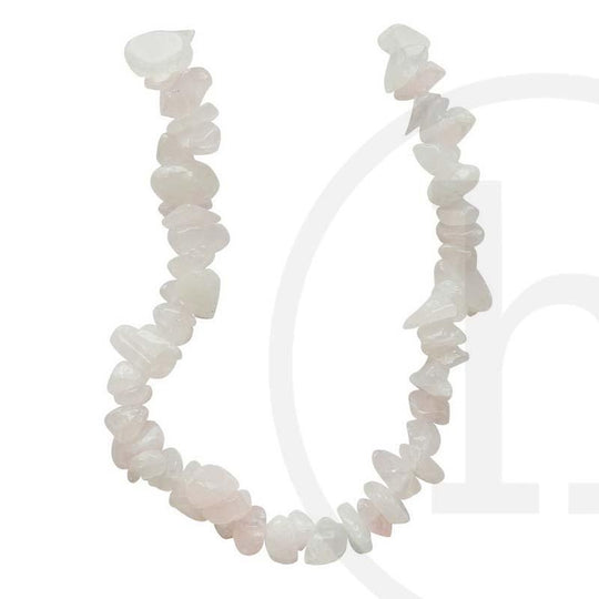 Rose Quartz ChipsBeads by Halcraft Collection