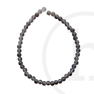 Smokey Quartz Round BeadsBeads by Halcraft Collection