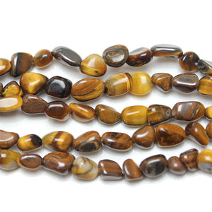 Yellow Tiger Eye (B Grade) Fancy BeadsBeads by Halcraft Collection