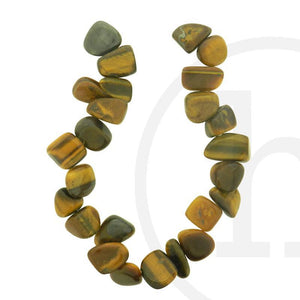 Yellow Tiger Eye (B Grade) Teardrop Chips