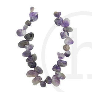 Amethyst Tear Drop NuggetsBeads by Halcraft Collection