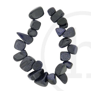 Simulated Blue Sandstone Tear Drop Nuggets