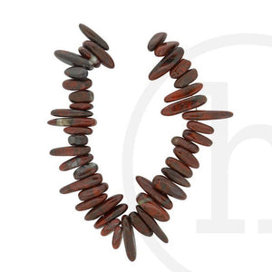 Brecciated Jasper Large TeethBeads by Halcraft Collection