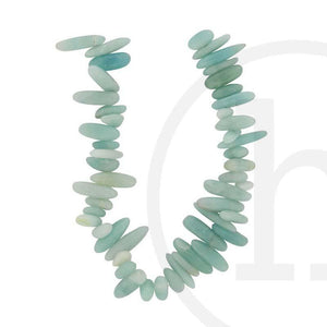 Amazonite Large TeethBeads by Halcraft Collection