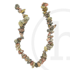 Leopard Jasper ChipsBeads by Halcraft Collection