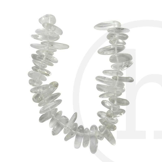 Rock Quartz Crystal Natural Shape 5x15mm