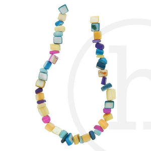 Shell Chips Multicolor 5√ó8mm Beads by Halcraft Collection