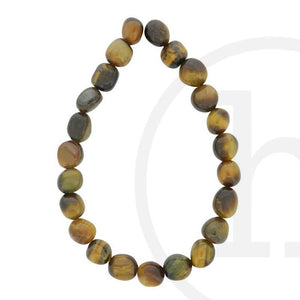 Stone Beads, Stone, Stone Bead, Stone, Beads, Semi-precious, Stone, Tiger Eye, Natural Shape, 8x10mm