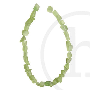 Stone Beads, Stone, Stone Bead, Stone, Beads, Glass, Light Green, Chips, Cat's eye, Green