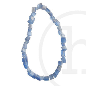 Stone Beads, Stone, Stone Bead, Stone, Beads, Glass, Light Sapphire, Chips, Cat's eye, Blue