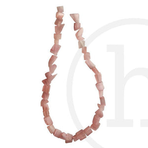 Cat's Eye-Chips-PinkBeads by Halcraft Collection