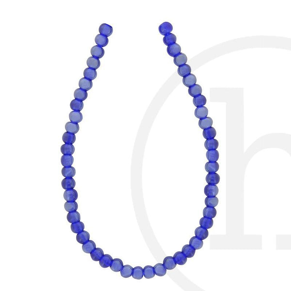 Glass, Glass Beads, Glass, Beads, Glass, Dark Sapphire, Blue, Royal blue, Luster, Round, 4mm, 6mm, 8mm, 10mm