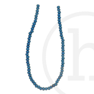 Glass Beads Round Sapphire IrisBeads by Halcraft Collection