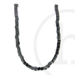 Glass Beads, Glass, Beads, Glass, Black, Cube, 4mm, 6mm