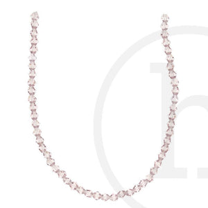 Glass Beads Faceted Bicone PeachBeads by Halcraft Collection