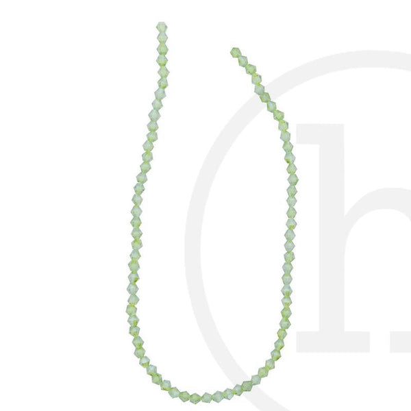 Glass Beads, Glass, Beads, Glass, Olive, Green, Moss, Olivine, Luster, Faceted, Bicone, 3mm, 4mm, 6mm