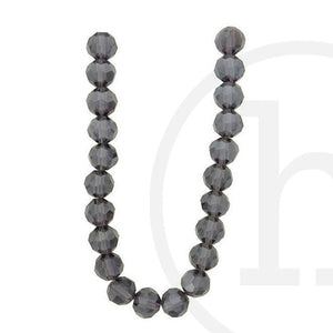 Glass Beads Faceted Round(32 Facets) Lavender Luster