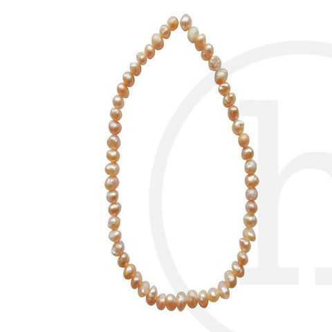 Pearl Beads, Pearl, Pearls, Beads, Freshwater Pearls, Rose, Freshwater Pearl, Potato, 2.8mm, 3mm