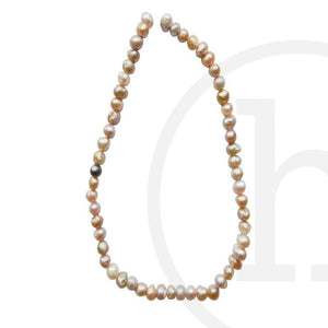 Fresh Water Pearl Potato (Hole Through Width) Amethyst Sizes VaryBeads by Halcraft Collection