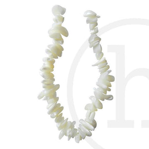 Mother Of Pearl Large Thick Slice NaturalBeads by Halcraft Collection