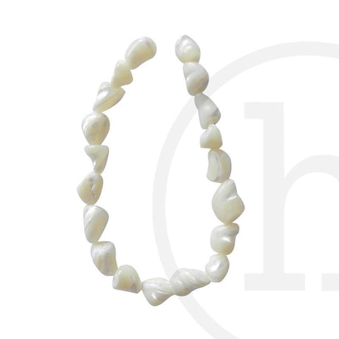 Pearl Beads, Pearl, Pearls, Beads, Freshwater Pearls, White, Mother of Pearl