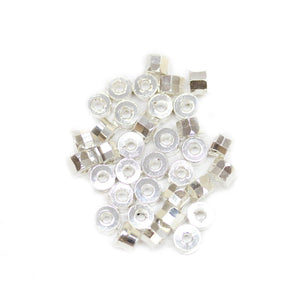 Silver Plated Cut Tube Beads 3.2x5mmBeads by Halcraft Collection