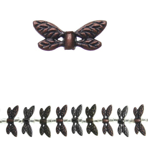 Multi Metal Wings 8x22mm BeadsBeads by Halcraft Collection