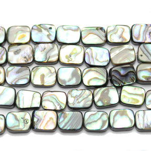 Abalone Rectangle 12x16mm