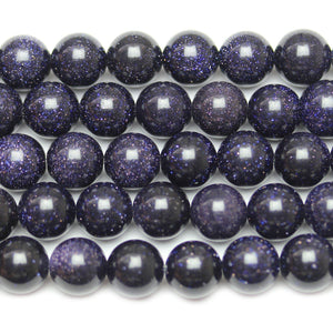 Beads, Bead, Glass, Glass Beads, Glass Bead, Round, Round Bead, Round Beads, Blue, Dark Blue, 8mm