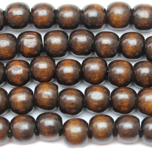 Beads, Bead, Wood, Wood Bead, Wood Beads, Round, Round Bead, Round Beads, Brown, 12mm