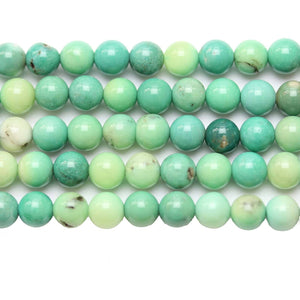 Green Mix Dyed Jasper Stone Round 6mm