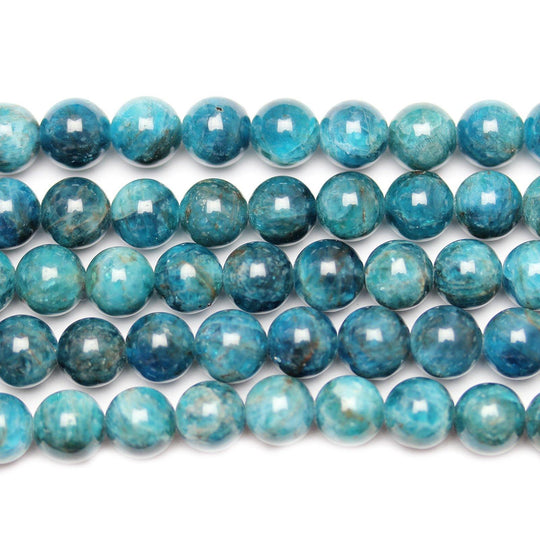 Semi Precious Natural Apatite Stone 8mm  Round