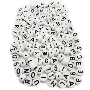Alphabet & Number Beads 5mm Mix Kit