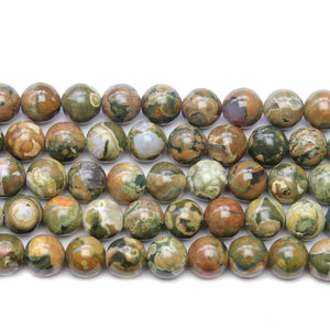 Polar Jade Stone Round 10mm Beads