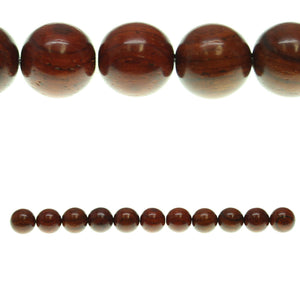 Costa Rican Rosewood Round 13mm