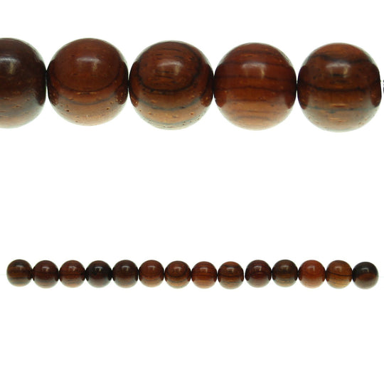 Costa Rican Rosewood Round 10mm