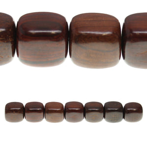 Costa Rican Rosewood Tube 19x22mm