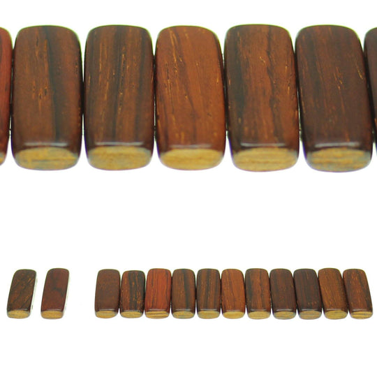 Costa Rican Rosewood 2 Hole Spacer 9x24mm