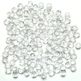 Crystal Glass Czech Round Fire Polished Faceted 4mm