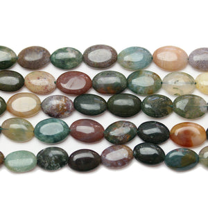 Indian Agate Oval 8.8x12mm BeadsBeads by Halcraft Collection