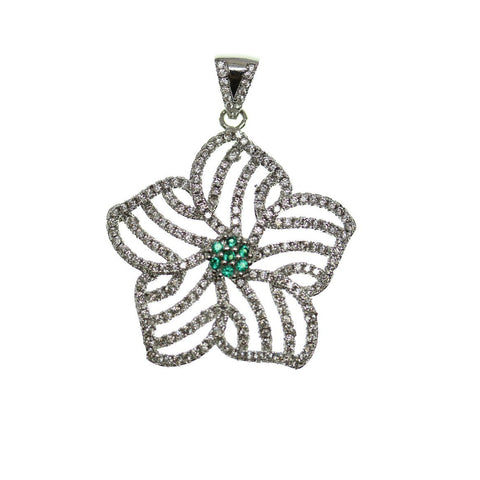30mm, Crystal, Glass, Green, Metal, Pendant, Star, Stone, Stone Pendant