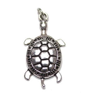 Charm, Charms, Silver Charm, Antique Charm, Plated Charm, Charm Bead, Charm Beads, Metal, Metal Charm, Silver, Silver Tone, Antique, Silver Tone Antique, Silver Tone Antique Charm, Turtle, Turtle Charm, 16x30mm, 16mm, 30mm