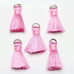 Pink Small Tassel 13x20mm  - Tassel by Bead Gallery