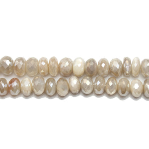 Beads, Bead, Semi Precious, Semiprecious, Semi-Precious, Stone, Stone Beads, Stone Bead, Opal Stone, Opal Faceted Stone, Rondell, Opal, Natural, White, Topaz, Amber, Faceted, Luster, 5x8mm, 5mm, 8mm