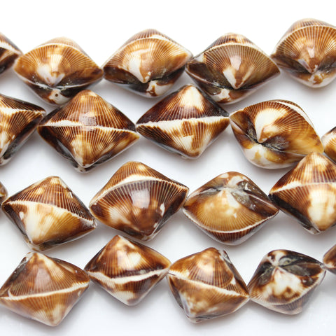 Beads, Bead, Shell Beads, Shell Bead, Shell, Oval, Oval Beads, Oval Bead, Brown, White, Natural, Amber, Philippine, Philippine Shell Bead, 15x22mm approx., 15mm, 22mm